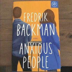 BOTM-Anxious People hardcover book